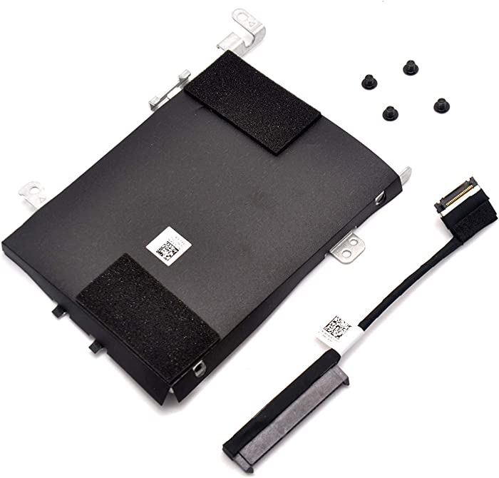 Deal4GO SSD SATA Hard Drive Caddy Bracket VX90N + HDD Cable Connector 4G9GN for Dell Latitude E5570 5570 Precision 15 3510 M3510