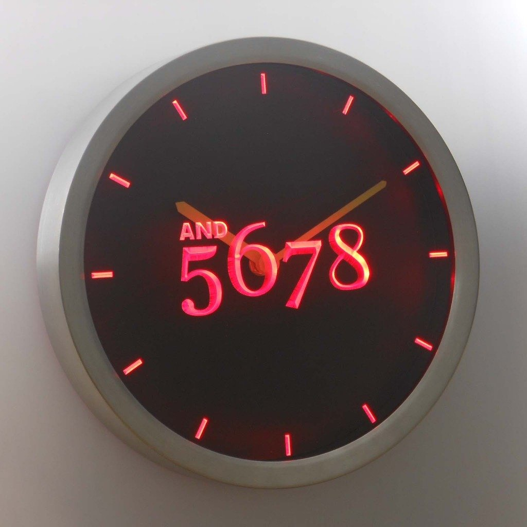 Amazon nc0710 b and 5678 dancer dance time neon sign led wall amazon nc0710 b and 5678 dancer dance time neon sign led wall clock home kitchen amipublicfo Gallery