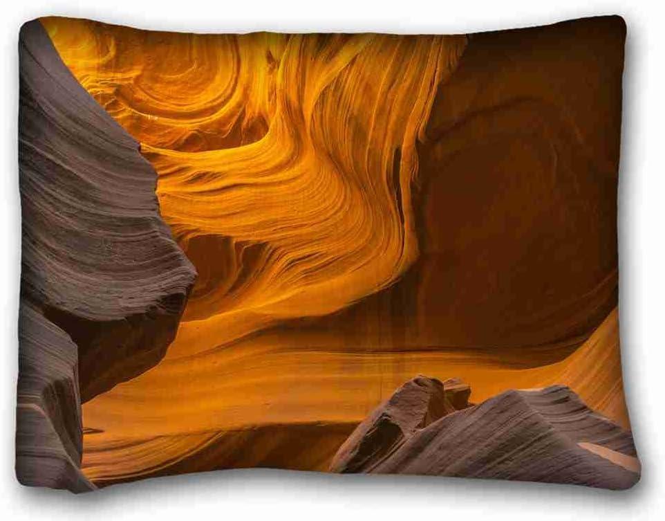Carcasa algodón y poliéster suave (animales gato dormir sueño alfombra) tamaño de la funda de almohada de Diy 20
