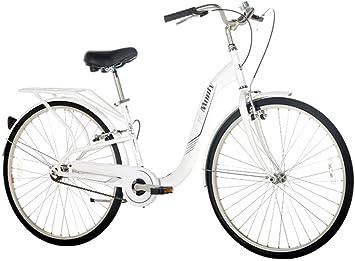 Monty City 4 - Bicicleta de Paseo Unisex, Cuadro de Acero Talla 15 ...