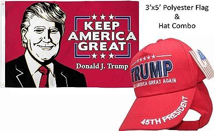 President Trump Make America Great Again 3x5 Polyester Flag NEW!