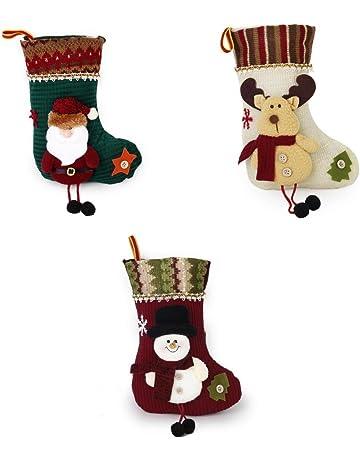 Desde price2,78€. 3x Navidad Calcetin Almacenamiento ...