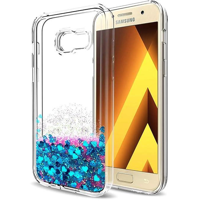 116 opinioni per LeYi Custodia Galaxy A5 2017 Glitter Cover con HD Pellicola,Brillantini