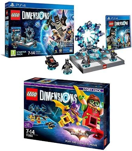 LEGO - Starter Pack Dimensions (PS4) + LEGO Dimensions Story Pack: Batman Movie: Amazon.es: Videojuegos