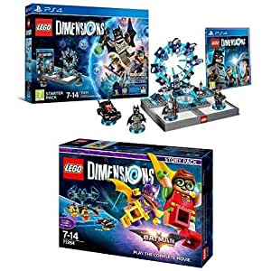 LEGO - Starter Pack Dimensions (PS4) + LEGO Dimensions Story Pack: Batman Movie