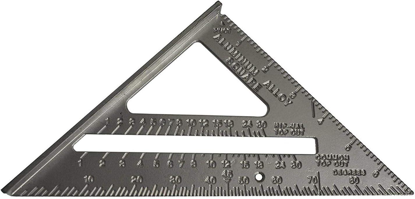 Silverline 734100 - Escuadra de aleación de aluminio 185 mm