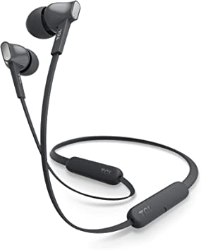 Amazon Com Tcl Mtro100bt Wireless In Ear Earbuds Noise Isolating Bluetooth Headphones With 18 Hour Battery Playtime And Built In Mic Shadow Black Electronics