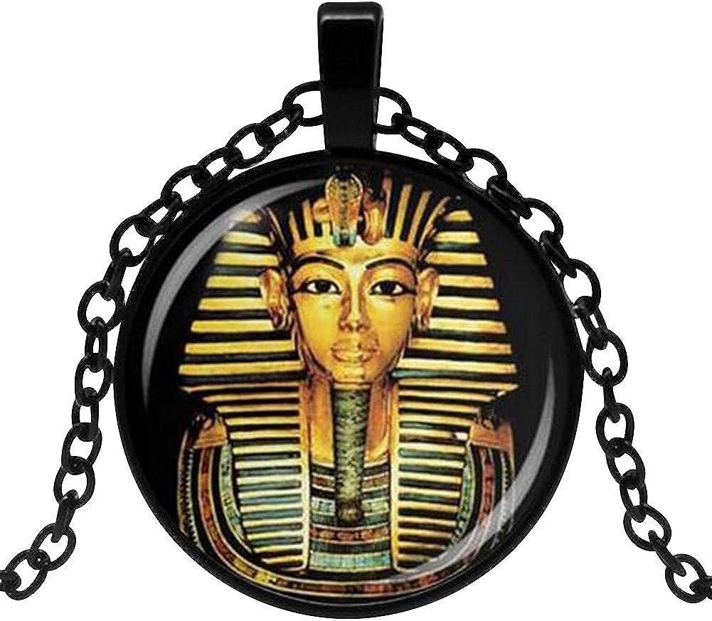 Générique Collar Colgante Tutankamón faraón Egipto.: Amazon.es: Joyería