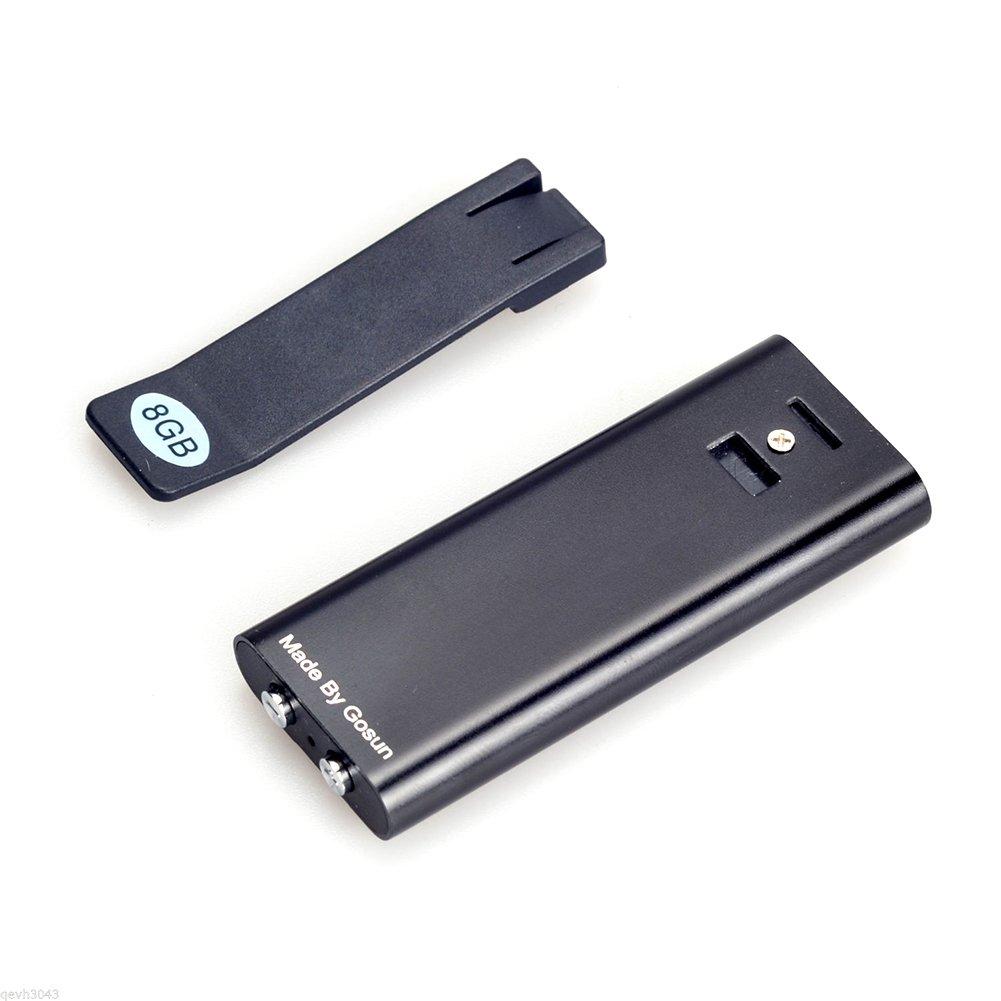 Schl/üssel mit 8/GB HD Fern Voice Activated Aufnahmen Audio-Recorder USB-Digital-Voice Recorder mit Clip