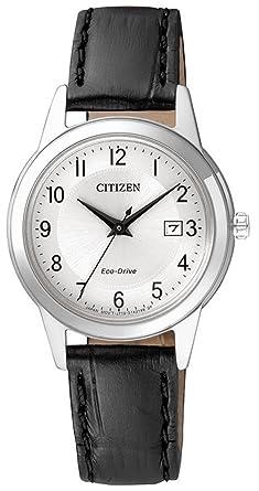 Chrono Solar Reloj Citizen Eco Drive Sports Mujer Reloj Reloj de pulsera con pulsera de piel fe1081 - 08 A: Amazon.es: Relojes