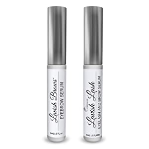 Pronexa Eyelash & Eyebrow Growth COMBO PACK - Lavish Lash (1 Tube, 3ML) & Lavish Brows (1 Tube, 5ML). Eyelash & Eyebrow Growth Enhancing Serums with Growth Peptides for Long, Thick Lashes & Eyebrows!