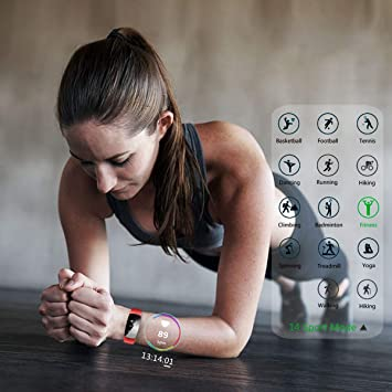 Pulsera Actividad,moreFit Slim Touch Pulsera Inteligente,Smart ...