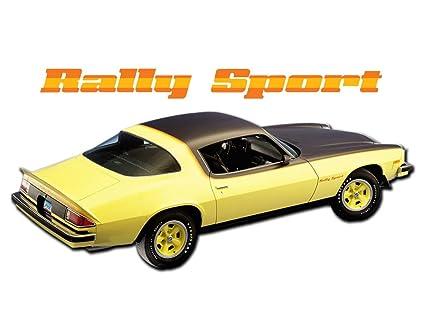 Amazon com: Camaro 1975 1976 1977 Chevrolet Rally Sport RS