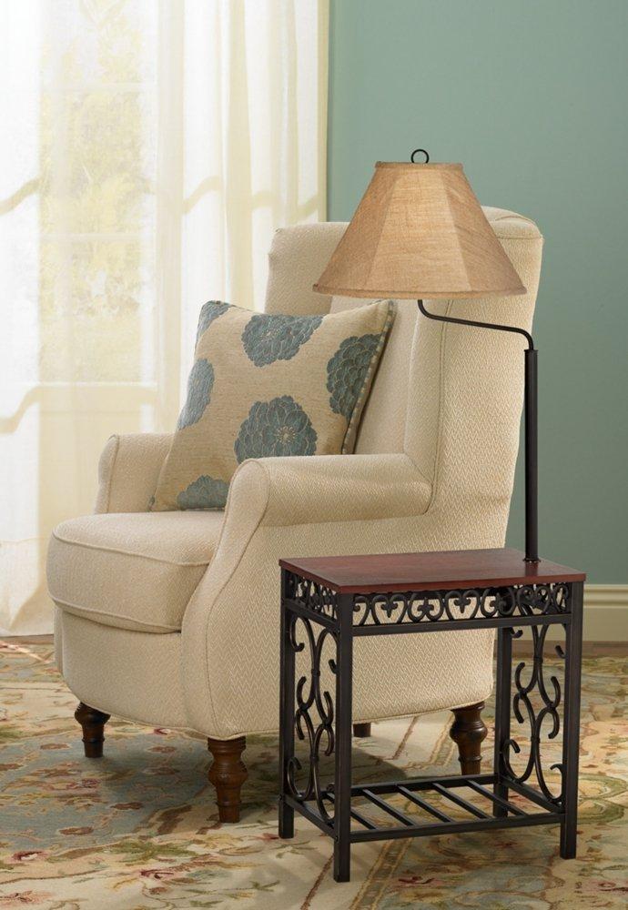 - Travata End Table Floor Lamp - - Amazon.com