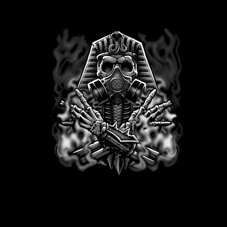 Egyptian Pharaoh Gas Mask Smoke Men Sweatshirt S-3XL New at Amazon Mens Clothing store: