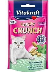 Vitakraft Crispy Crunch Dental Menthe Poivrée pour Chat 60 g