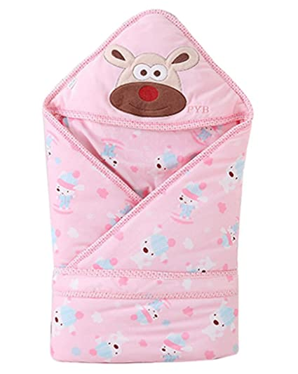 Happy Cherry - Saco Manta de Bebés Niños Niñas de Dormir Acolchado Algodón Invierno Animal Recien