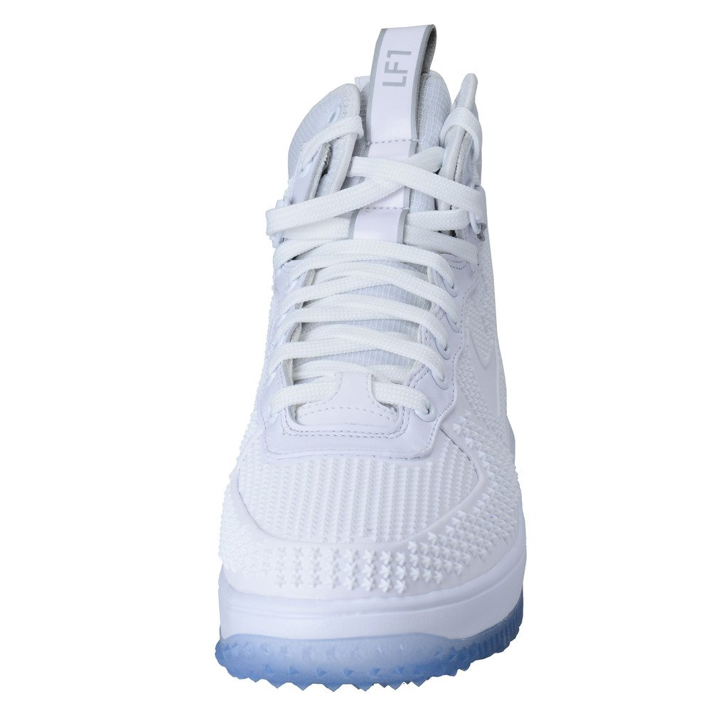 online store 1f204 da4e5 Nike 806402-100 Lunar Force 1 Duckboot PRM Mens hi top Sneakers Shoes  Trainers (US 11, White ICY Blue  Amazon.ca  Shoes   Handbags