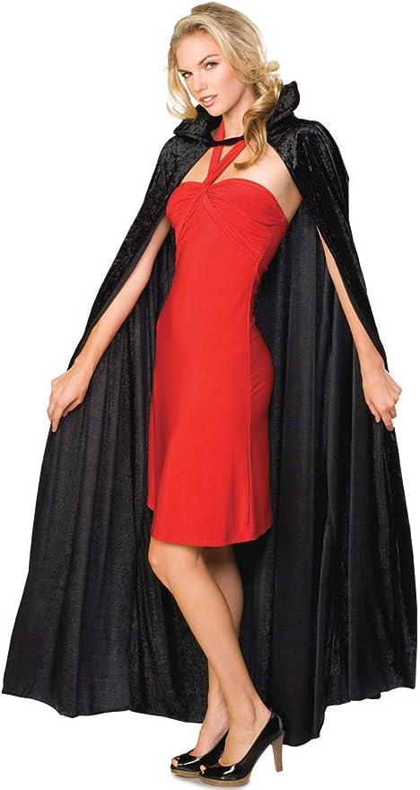 Rubies - Capa para disfraz de adulto, terciopelo negro: Amazon.es ...
