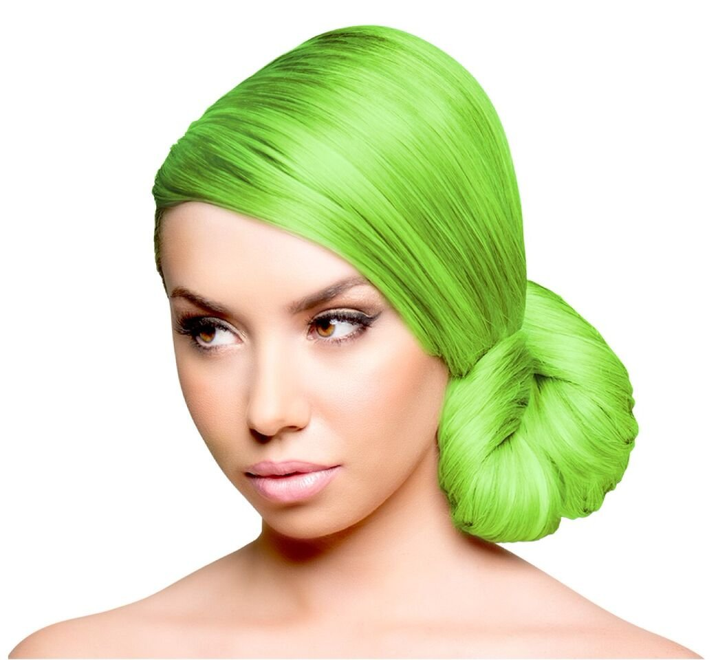 Amazon Sparks Long Lasting Bright Hair Color Key Lime 3