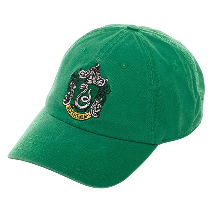 Image Unavailable. Image not available for. Color  Harry Potter Slytherin  Adjustable Hat Ball Cap d7efbc60cb13