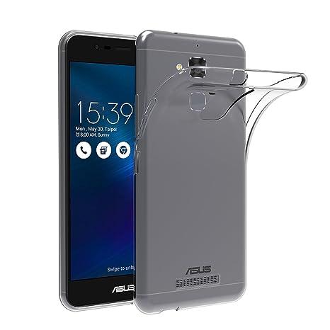AICEK Funda ASUS ZenFone 3 MAX ZC520TL, ASUS ZenFone 3 MAX Funda Transparente Gel Silicona ASUS ZenFone 3 MAX Premium Carcasa para ZenFone 3 MAX 5.2