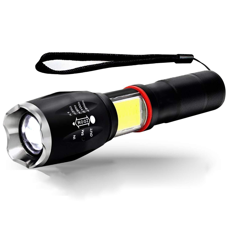 JU FU Starke Licht Taschenlampe, führte Teleskop Zoom COB Lampe Bead Schwanz Starke magnetische Ladung geeignet für den Außenbereich |