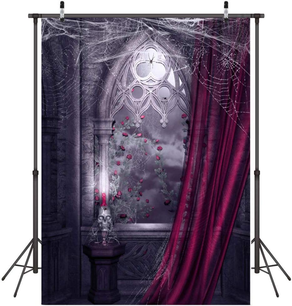 Photography Backdrop,5x7 FT 1.5m x 2.1m Ghost Festival Newborn Photography Baby Photo Studio Props Adults Portrait Pictures Video Holiday