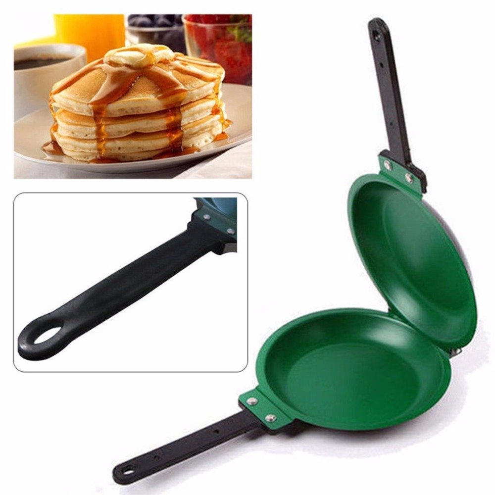Non-stick Flip Pan Ceramic Pancake Maker Cake Porcelain Frying Pan Nonstick Healthy General Use For Gas And Induction Cooker Hot