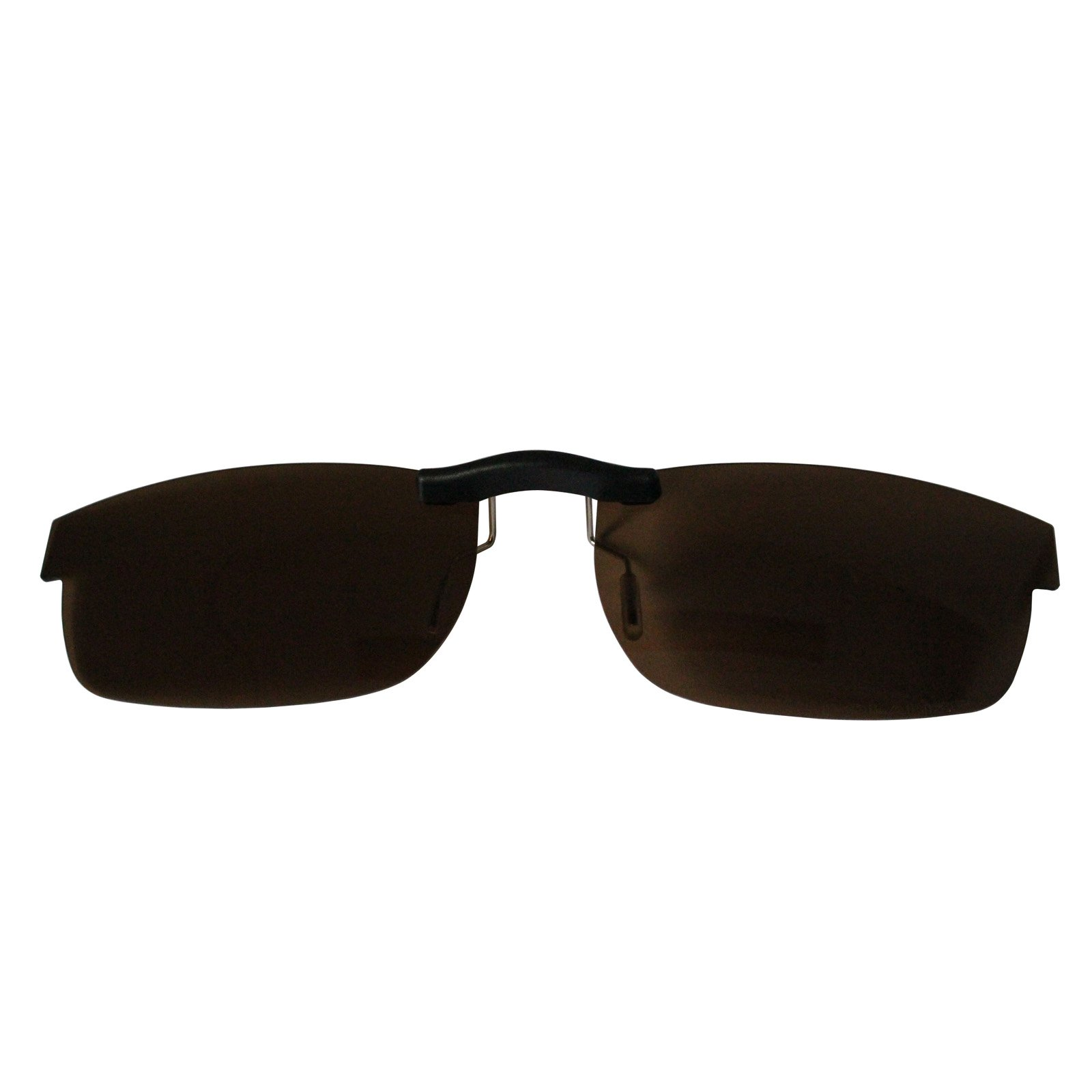Custom Polarized Clip On Sunglasses for Oakley Metal Plate (55) OX5038 55x18 5038(No Frame) Brown by oGeee