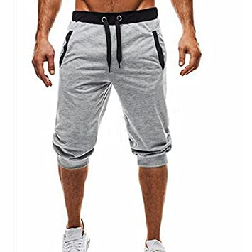 5bde6571f6dd Herren Chino Shorts,Internet Herren Bermuda Short Cotton Sweat Short Kurze  Hose Bermuda Sweatpant Jogginghose