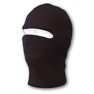 1 Hole Tactical Ski Mask (Black)