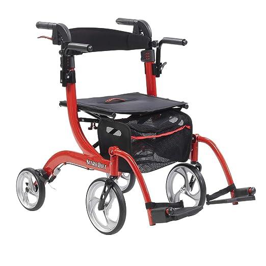 Drive Medical Nitro Duet - Silla de ruedas y andador con ...