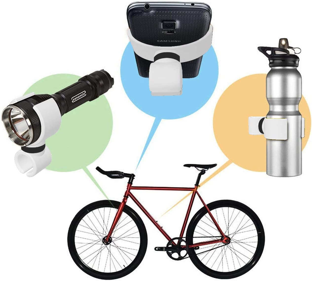 Soporte Huawei P9 lite bici soporte linterna bicicleta soporte ...