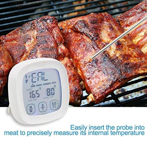 YJYDADA Digital Thermometer Kitchen Cooking