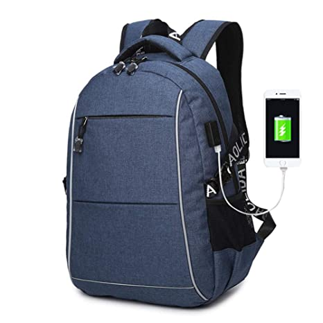 a02599c80ebb Amazon.com: FWJ Laptop Backpack High Capacity Business Men Oxford ...