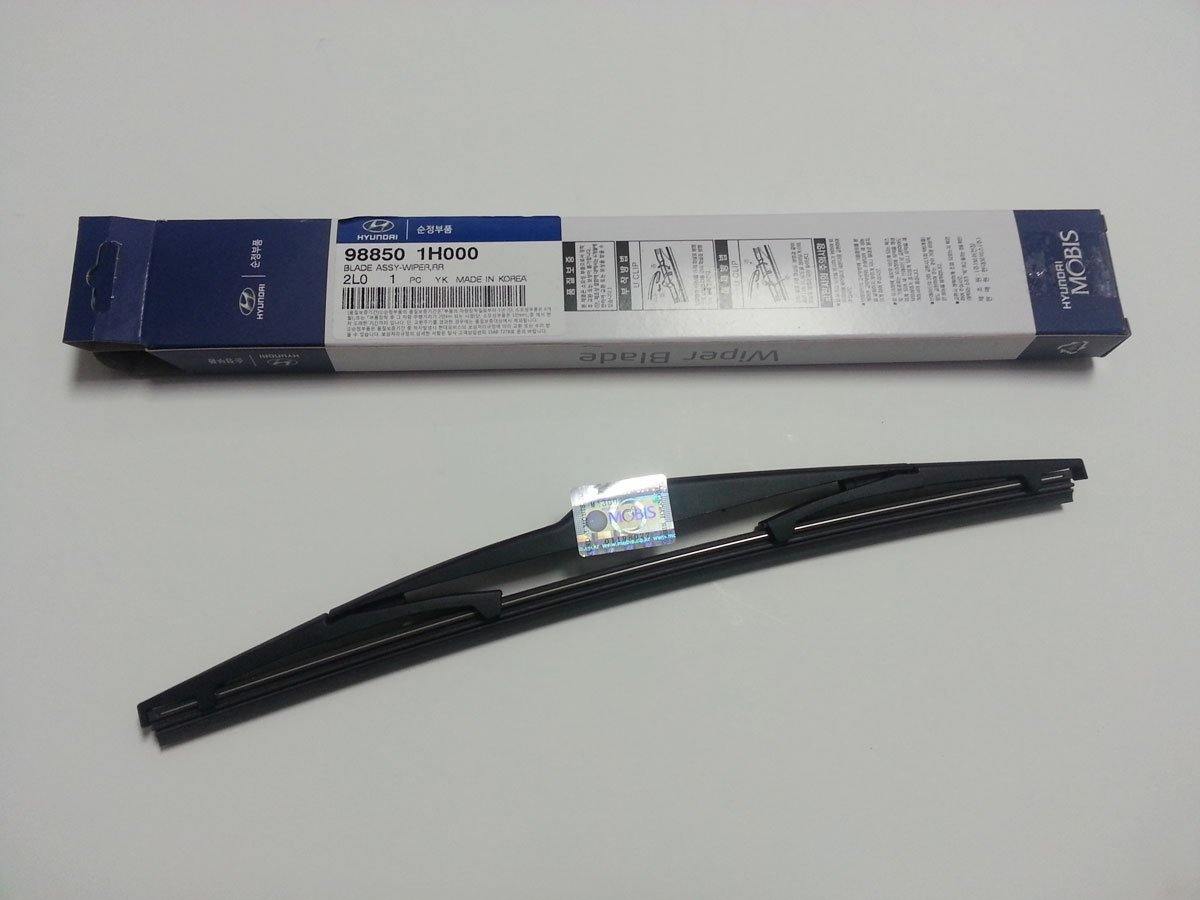 Hyundai Elantra Touring I30 2007~2012 Genuine Oem Parts Rear Wiper Blade 988501h000