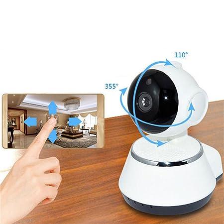 favourall WiFi Cámara IP, 720p WiFi HD IP CAM P2P giro Bar WiFi Vigilancia Cam, con 355 °/90 ° Giro Bar, Home y Baby Monitor con detección de movimiento, ...