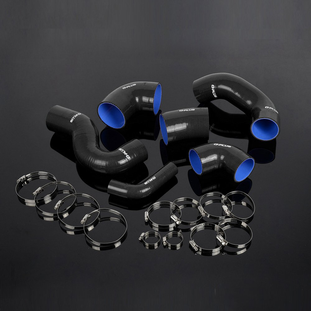 Amazon.com: Gplus Silicone Turbo Hose Clamps Pipe Kit For FIAT COUPE 2.0 20V GT TURBO Black: Automotive