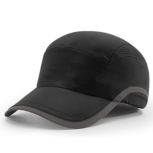 9d884b345e0 2040USA Richardson Laser Vented Performance Running Cap (Black Charcoal)