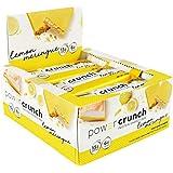 Bionutritional Research Group Power Crunch Protein Energy Bar, Lemon Meringue, 12 Count (16.8oz) (480G)