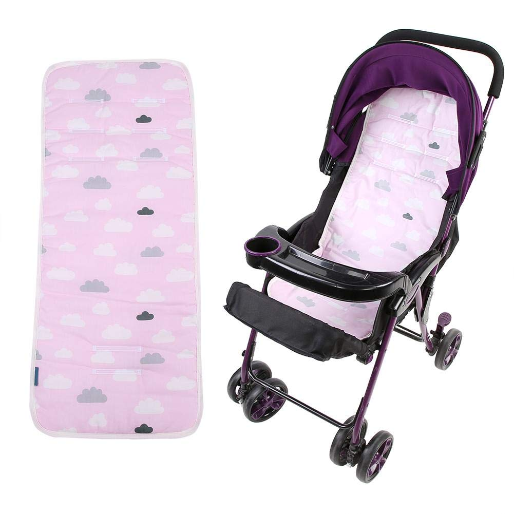 Baby Stroller Cushion Infant Carseat Liner Pad Comfortable Cotton Mat for Kids Chair Car Stroller Seat(Cloud) by Hztyyier