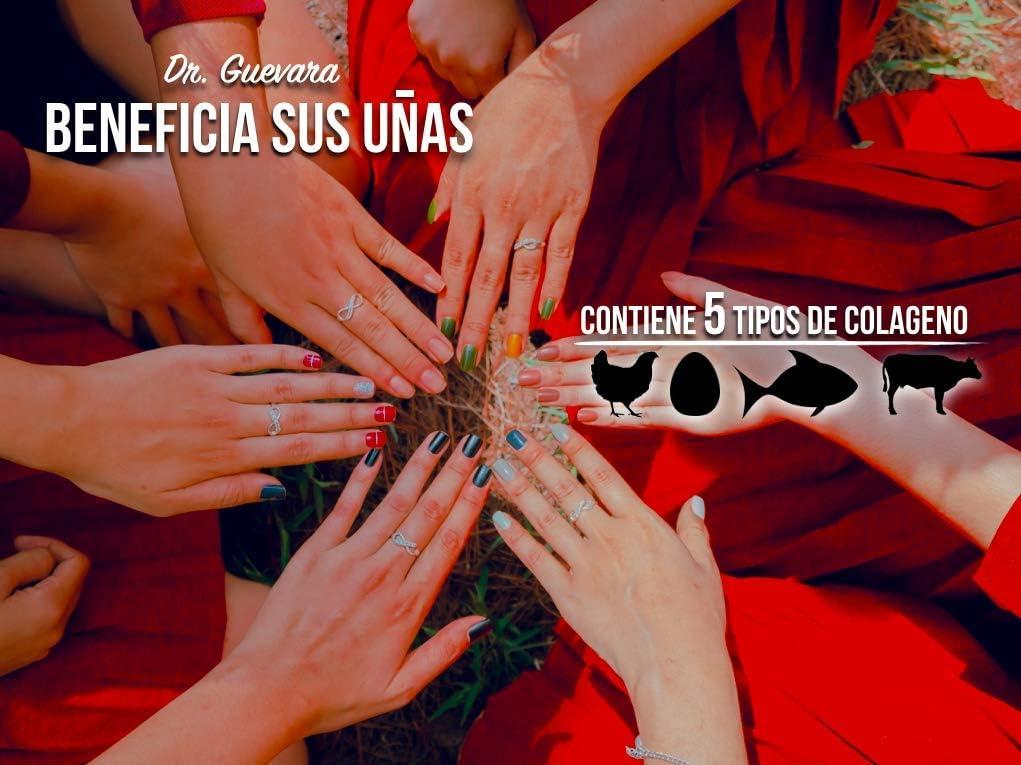 Colageno Hidrolizado en Capsulas para Mujer y Hombre - Colageno Capsules for Women and Men - Pastillas de Colageno Marino Tipo 1, 2, 3, 5, y 10 - para ...