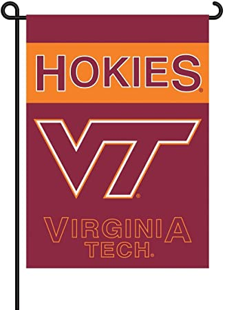 Merveilleux NCAA Virginia Tech Hokies 2 Sided Garden Flag, 13 X 18