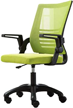 Amazon Com Qqxx Office Chair Swivel Chair Ergonomic Desk Chair Comfy Seat Computer Chair Lumbar Support Color Green Furniture Decor