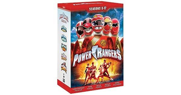 Amazon.com: Power Rangers: Seasons Eight - Twelve: Tracy ...