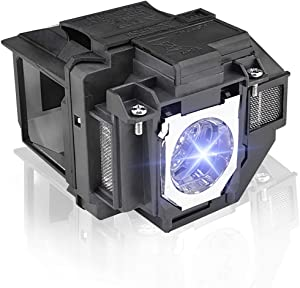 ELPLP96/V13h010l96 Replacement Projector Lamp for EPSON Powerlite Home Cinema 2100 2150 1060 660 760HD VS250 VS350 VS355 EX9210 EX9220 EX3260 EX5260 EX7260 Projector Bulb Lamp with Housing