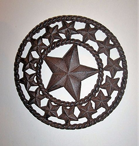 vy Cast Iron - Trivet Stand - Round Rope Edge -