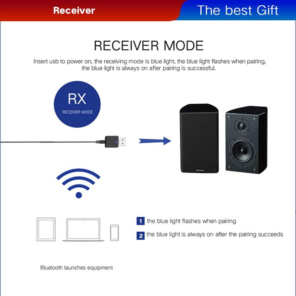 Advanced Bluetooth 4.2, A2Dp Portable Wireless Au Golvery Bluetooth Receiver