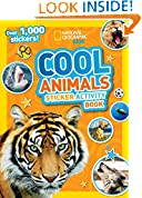 #5: National Geographic Kids Cool Animals Sticker Activity Book: Over 1,000 stickers!